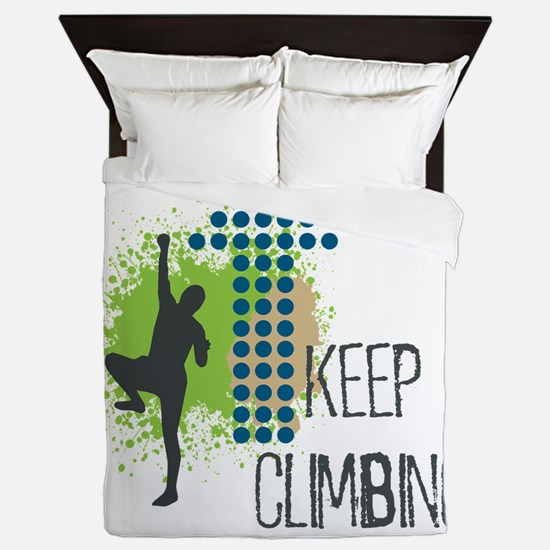 Cute Summit Queen Duvet