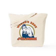 Rosie Riveter Best Stepmom Tote Bag