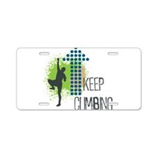 Unique Energy Aluminum License Plate