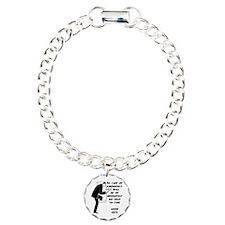 Emergency Assistance Charm Bracelet, One Charm