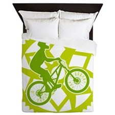 Cute Bicycle chain Queen Duvet