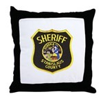 Stanislaus County Sheriff Throw Pillow