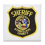 Stanislaus County Sheriff Tile Coaster