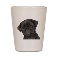 Pug Shot Glass