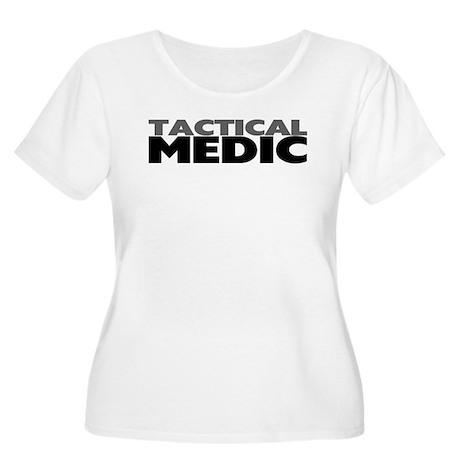 Tactical Medic Women's Plus Size Scoop Neck T-Shir