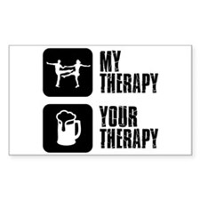 jive my therapy Decal