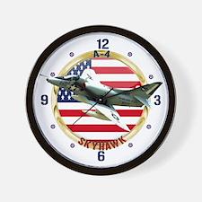 A-4 Skyhawk Wall Clock