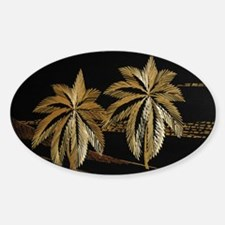Palms from straw Decal