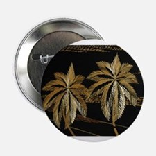 "Palms from straw 2.25"" Button"