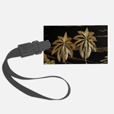 Palms from straw Luggage Tag