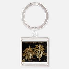 Palms from straw Keychains