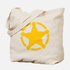 Cute Sheriff Badge Tote Bag