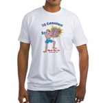 HONOR THY CAT!  (Bible) Fitted T-Shirt