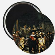 Rembrandt - The Nightwatch, 1642 painting Magnet