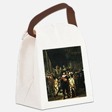 Rembrandt - The Nightwatch, 1642  Canvas Lunch Bag