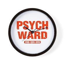 Psych Ward Wall Clock