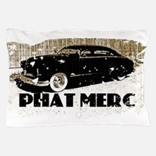 PHAT MERC-distressed.png Pillow Case