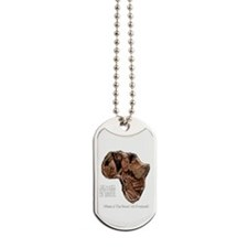 END POVERTY IN AFRICA Dog Tags