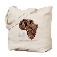 END POVERTY IN AFRICA Tote Bag