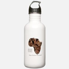 END POVERTY IN AFRICA Sports Water Bottle