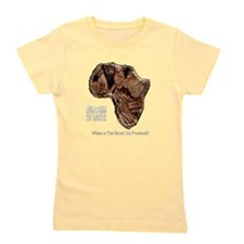 END POVERTY IN AFRICA Girl's Tee
