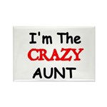 Im the CRAZY AUNT 4 Magnets