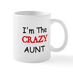 Im the CRAZY AUNT 4 Mugs