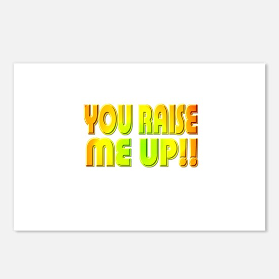 You Raise Me Up Postcards (Package of 8)
