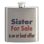 Sister for Sale, $1.00 or best offer Flask