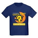 Yella Dawg Sarsaparilla Kids Dark T-Shirt