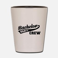 Bachelor Party Crew Shot Glass