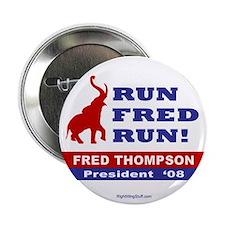 """Run Fred Run! 2.25"""" Button (10 pack)"""