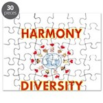 Harmony and Diversity Puzzle