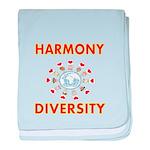 Harmony and Diversity baby blanket