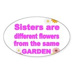 SISTER ARE DIFFERENT FLOWER FROM THE SAME GARDEN S