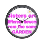 SISTER ARE DIFFERENT FLOWER FROM THE SAME GARDEN W