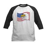 Bald Eagle Kids Baseball Jersey
