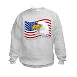 Bald Eagle Kids Sweatshirt