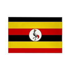 Uganda Flag Rectangle Magnet