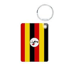 Uganda Flag Keychains