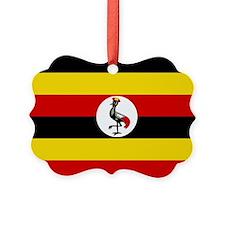 Uganda Flag Ornament