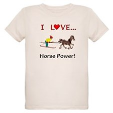 I Love Horse Power T-Shirt