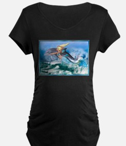 Best Seller Merrow Mermaid Maternity T-Shirt
