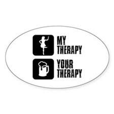sail my Therapy Decal