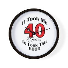 40 years Old Wall Clock