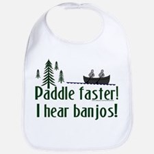 Paddle faster, I hear banjos Bib
