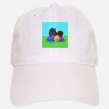 Black Pomeranian Baseball Baseball Cap