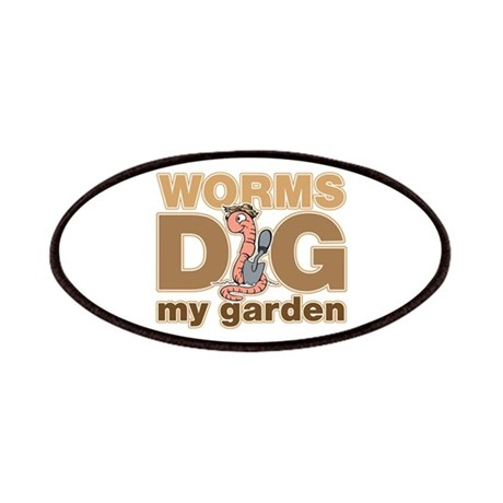 worms dig my garden patches by theinternetmall. Black Bedroom Furniture Sets. Home Design Ideas