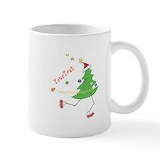 Customize Christmas Tree Runner Mugs