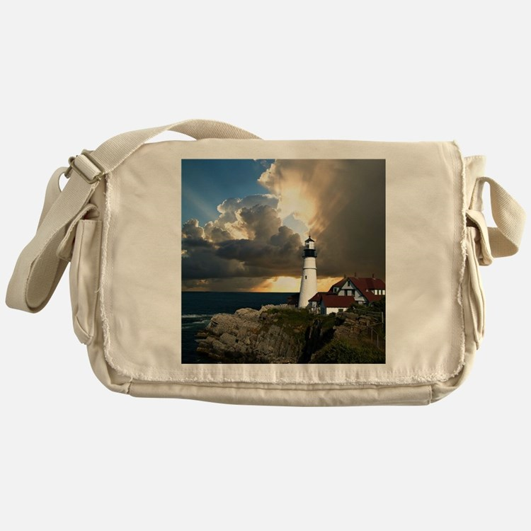 Lighthouse Beacon Messenger Bag